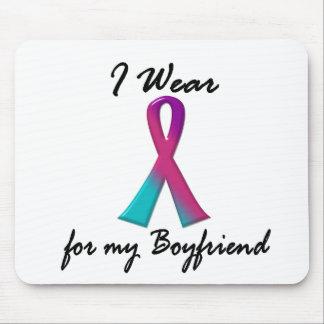 Thyroid Cancer I WEAR THYROID RIBBON 1 Boyfriend Mouse Pad