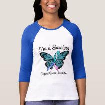 Thyroid Cancer I'm a Survivor T-Shirt