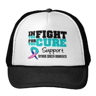 Thyroid Cancer In The Fight For The Cure Trucker Hat