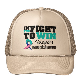 Thyroid Cancer In The Fight To Win Trucker Hat