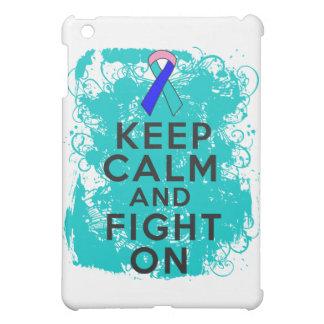 Thyroid Cancer Keep Calm and Fight On iPad Mini Cover