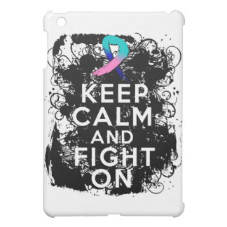 Thyroid Cancer Keep Calm and Fight On.png iPad Mini Case