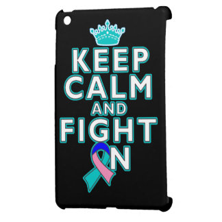 Thyroid Cancer Keep Calm Fight On Case For The iPad Mini