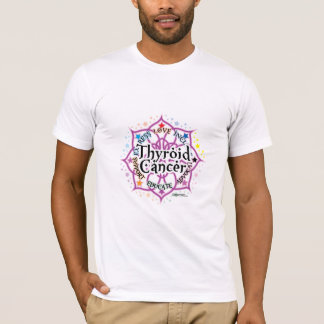 Thyroid Cancer Lotus T-Shirt