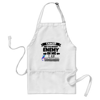 Thyroid Cancer Met Its Worst Enemy in Me Adult Apron