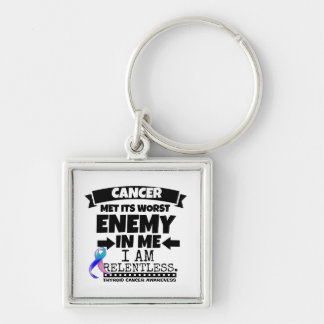 Thyroid Cancer Met Its Worst Enemy in Me Keychain