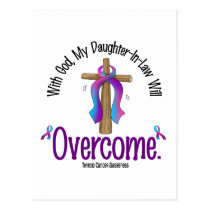 Thyroid Cancer My Daughter-In-Law Will Overcome Postcard
