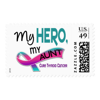 Thyroid Cancer MY HERO MY AUNT 42 Postage Stamp