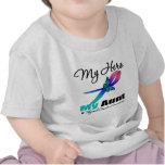 Thyroid Cancer My Hero My Aunt T Shirt