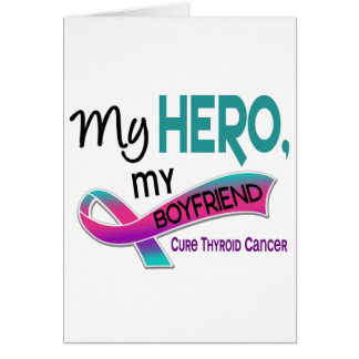 Thyroid Cancer MY HERO MY BOYFRIEND 42 Card