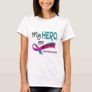 Thyroid Cancer MY HERO MY BROTHER 42 T-Shirt