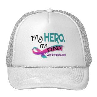 Thyroid Cancer MY HERO MY DAD 42 Trucker Hat