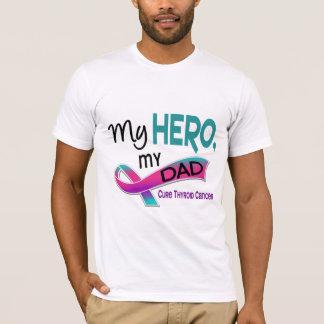 Thyroid Cancer MY HERO MY DAD 42 T-Shirt