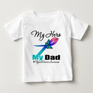 Thyroid Cancer My Hero My Dad T Shirt