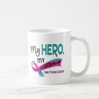 Thyroid Cancer MY HERO MY DAUGHTER-IN-LAW 42 Coffee Mug