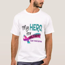 Thyroid Cancer MY HERO MY GIRLFRIEND 42 T-Shirt