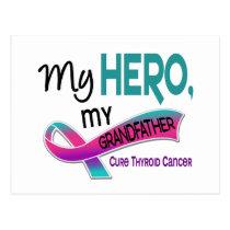 Thyroid Cancer MY HERO MY GRANDFATHER 42 Postcard