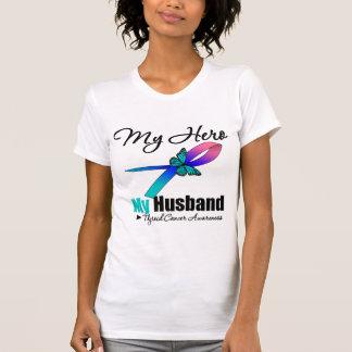Thyroid Cancer My Hero My Husband T Shirt