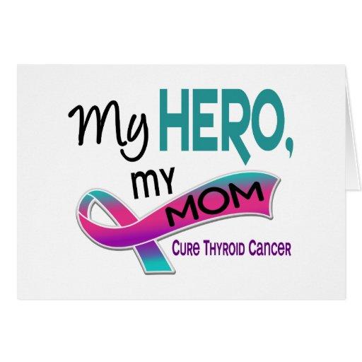 Thyroid Cancer MY HERO MY MOM 42 Card