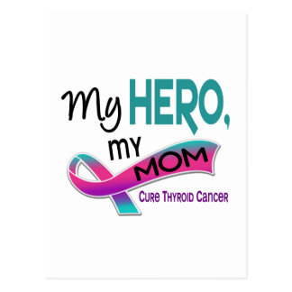 Thyroid Cancer MY HERO MY MOM 42 Postcard