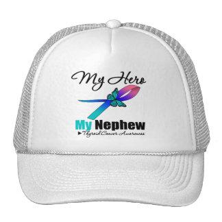 Thyroid Cancer My Hero My Nephew Trucker Hat
