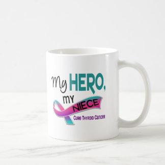 Thyroid Cancer MY HERO MY NIECE 42 Coffee Mug