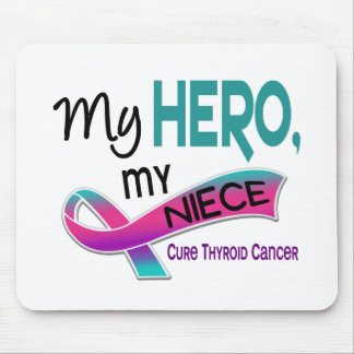 Thyroid Cancer MY HERO MY NIECE 42 Mouse Pad