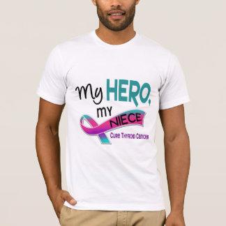 Thyroid Cancer MY HERO MY NIECE 42 T-Shirt