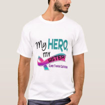 Thyroid Cancer MY HERO MY SISTER 42 T-Shirt