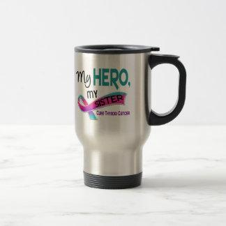 Thyroid Cancer MY HERO MY SISTER 42 Travel Mug