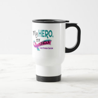 Thyroid Cancer MY HERO MY UNCLE 42 Travel Mug