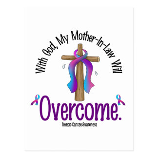 Thyroid Cancer My Mother-In-Law Will Overcome Postcard