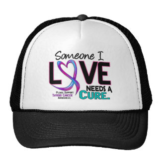 Thyroid Cancer NEEDS A CURE 2 Trucker Hat