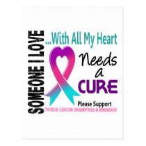 Thyroid Cancer Needs A Cure 3 Postcard