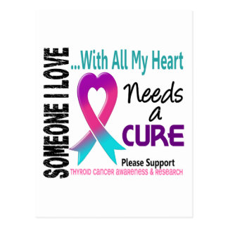 Thyroid Cancer Needs A Cure 3 Post Card