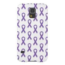 Thyroid Cancer Purple Ribbon Phone Case