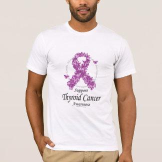 Thyroid Cancer Ribbon of Butterflies T-Shirt
