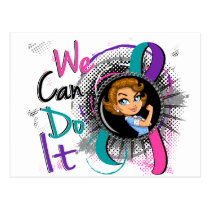Thyroid Cancer Rosie Cartoon WCDI.png Postcard