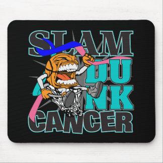 Thyroid Cancer - Slam Dunk Cancer Mouse Pad