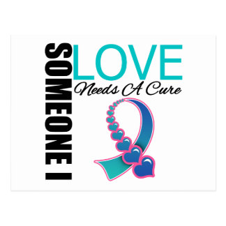 Thyroid Cancer Someone I Love Needs A Cure Post Card