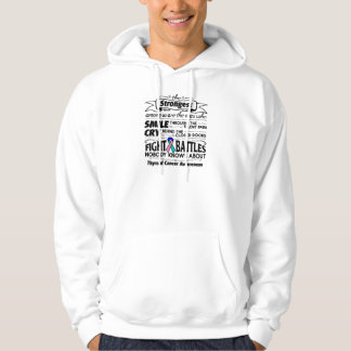 Thyroid Cancer Strongest Among Us Hooded Pullover