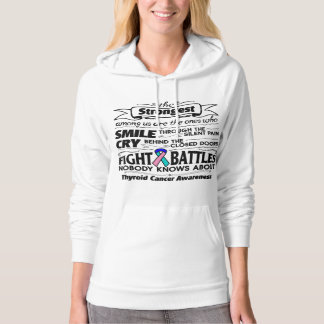 Thyroid Cancer Strongest Among Us Pullover