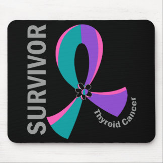 Thyroid Cancer Survivor 12 Mouse Pad