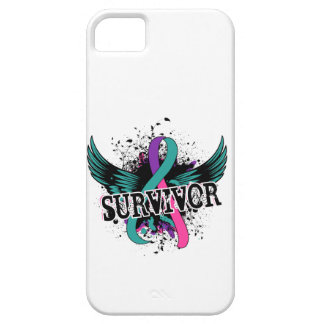 Thyroid Cancer Survivor 16 iPhone SE/5/5s Case