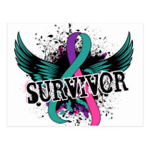 Thyroid Cancer Survivor 16 Postcard