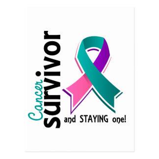 Thyroid Cancer Survivor 19 Postcard