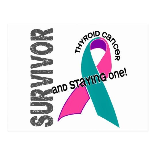 Thyroid Cancer Survivor 1 Postcard
