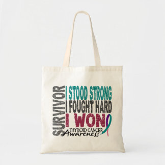 Thyroid Cancer Survivor 4 Tote Bag