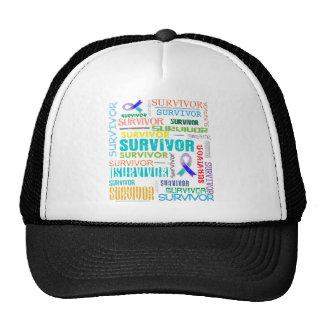 Thyroid Cancer Survivor Collage.png Mesh Hat
