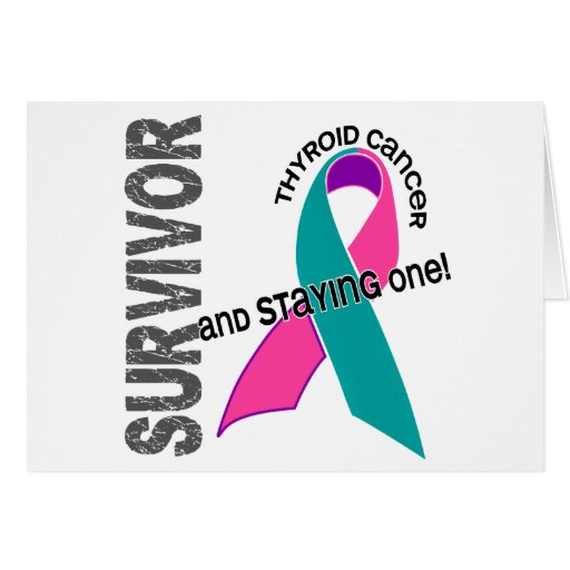 Thyroid Cancer Survivor Greeting Card